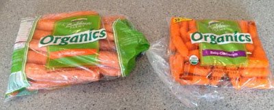 How germy are baby carrots?