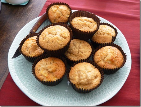 apple and ginger muffins