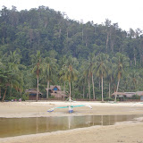 Le Lodge Greenviews à Port Barton, Palawan, 14 août 2005. Photo : Jean-Marc Gayman