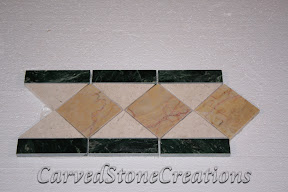 Cream, Flooring, Flooring & Mosaics, Green, Interior, Listello, Marble, Mosaic, Natural, Polished, Stone, Tile, Yellow