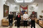 Megawati Terima Gibran dan FX Hadi Rudyatmo di Teuku Umar