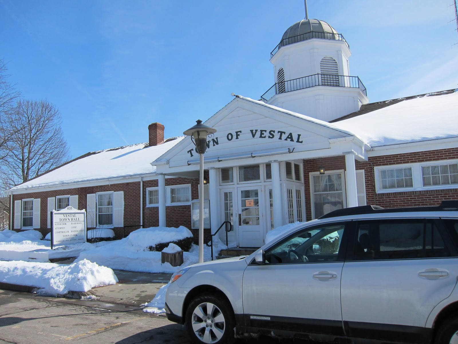 Ithaca Lawyer Blog: Busy Binghamton Lawyer, Vestal Town Courtvestal town