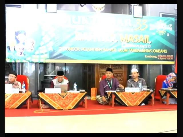 Komisi Bahsul Masail Perbolehkan Jaminan BPJS