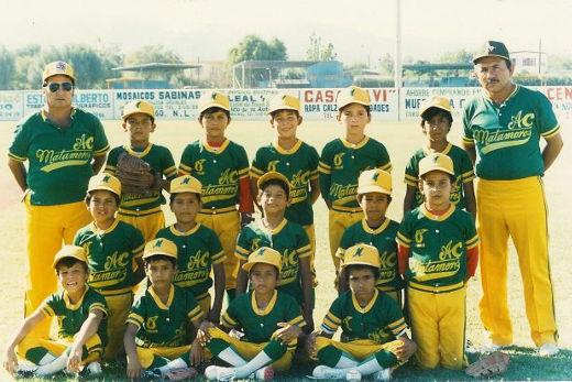 Matamoros A.C. en el campeonato nacional de ligas pequeñas categoría menor de 1986
