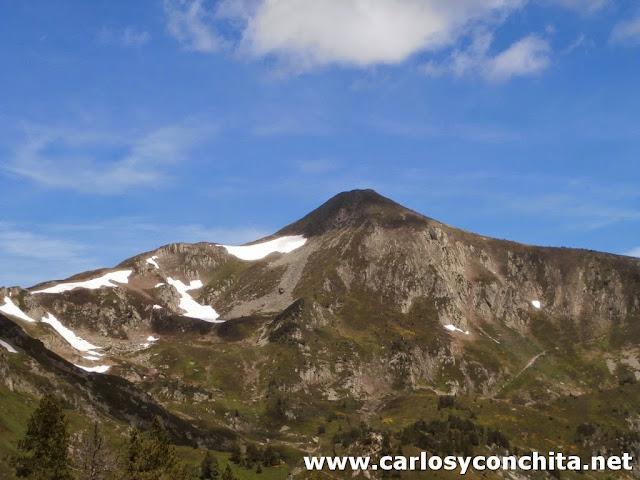 El pico de Tarbesou (tenemos previsto subir...)