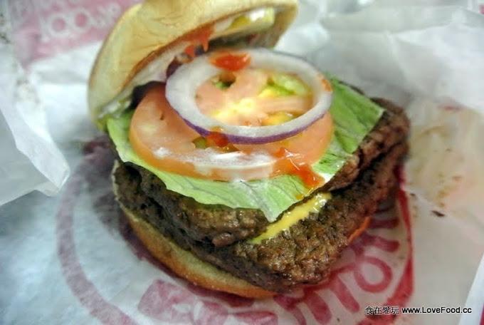 美國加州【Wendy's burger(溫娣漢堡)】懷念的好滋味