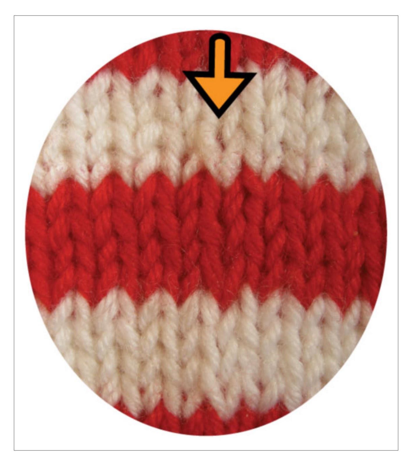 Amigurumi Jogless Stripes : TECHknitting: Jogless stripes--pretty picture version ...