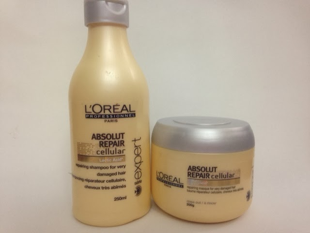 L'Oreal Professionnel Absolut Repair Shampoo/ Masque
