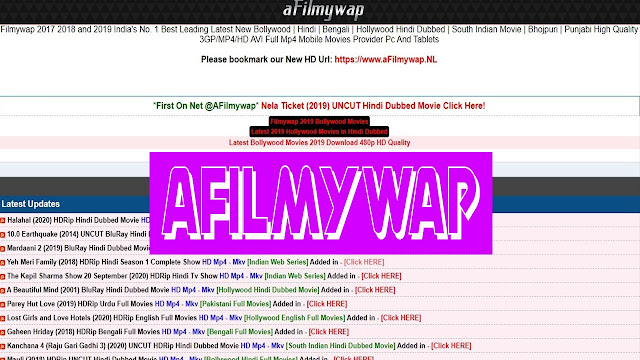 AFilmywap 2021 - Illegal HD Movies Free Download Website