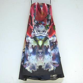 Lucian Matis Strapless Dress
