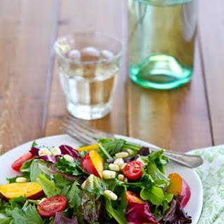 Tomato, Nectarine and Corn Salad – Celebrating Summer with Dole Salads.