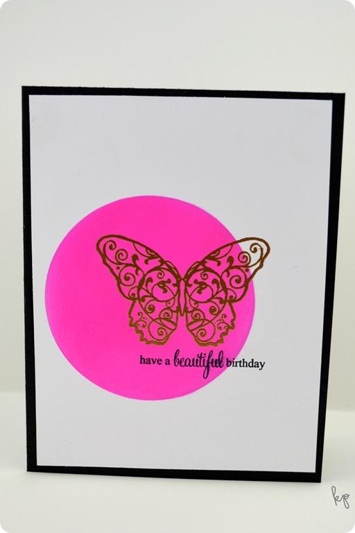 Beautiful Birthday Butterfly