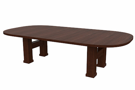 Hagen Conference Table in Temperance Walnut
