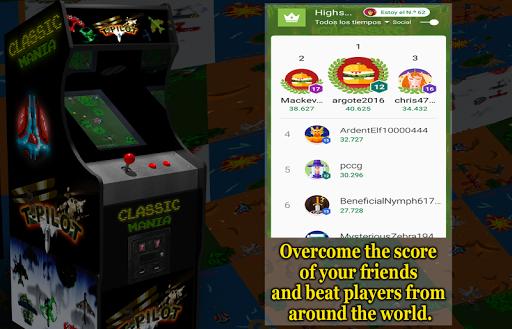 Retro Time Pilot Arcade apkpoly screenshots 6