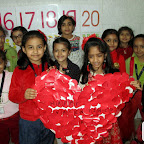 Valentine's Day Celebration Sr.KG. and Jr.KG. (14-2-2018)