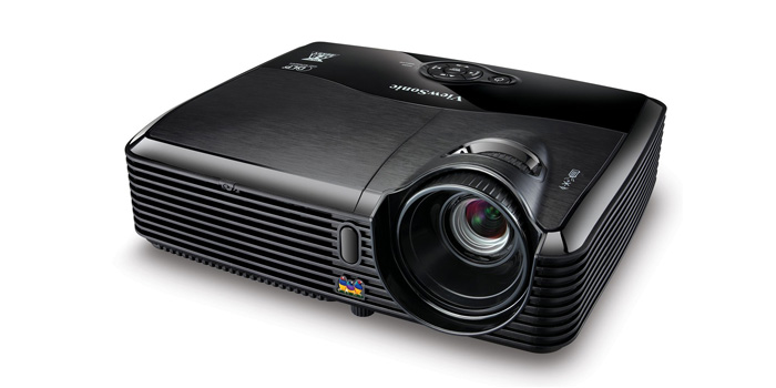 Thumbnail image for ViewSonic PJD5123 SVGA DLP Projector 120Hz/3D Ready, 2700 Lumens, 3000:1 DCR:High Quality with Low Price!!
