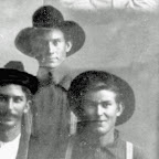 David Alexander, his brother Arthur and brother Andy