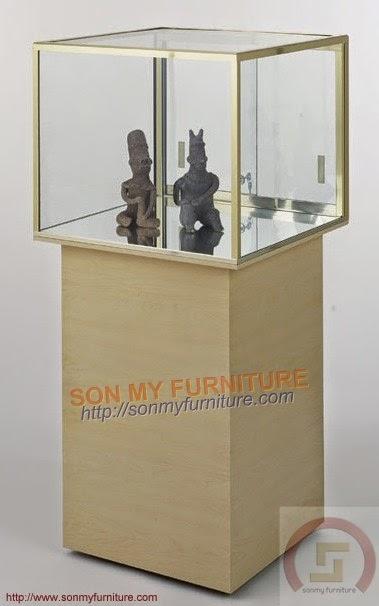 Tủ trưng bày gỗ 034