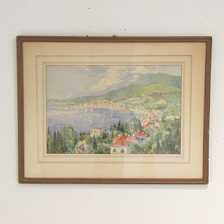 Howard Austin Signed Watercolor Painting