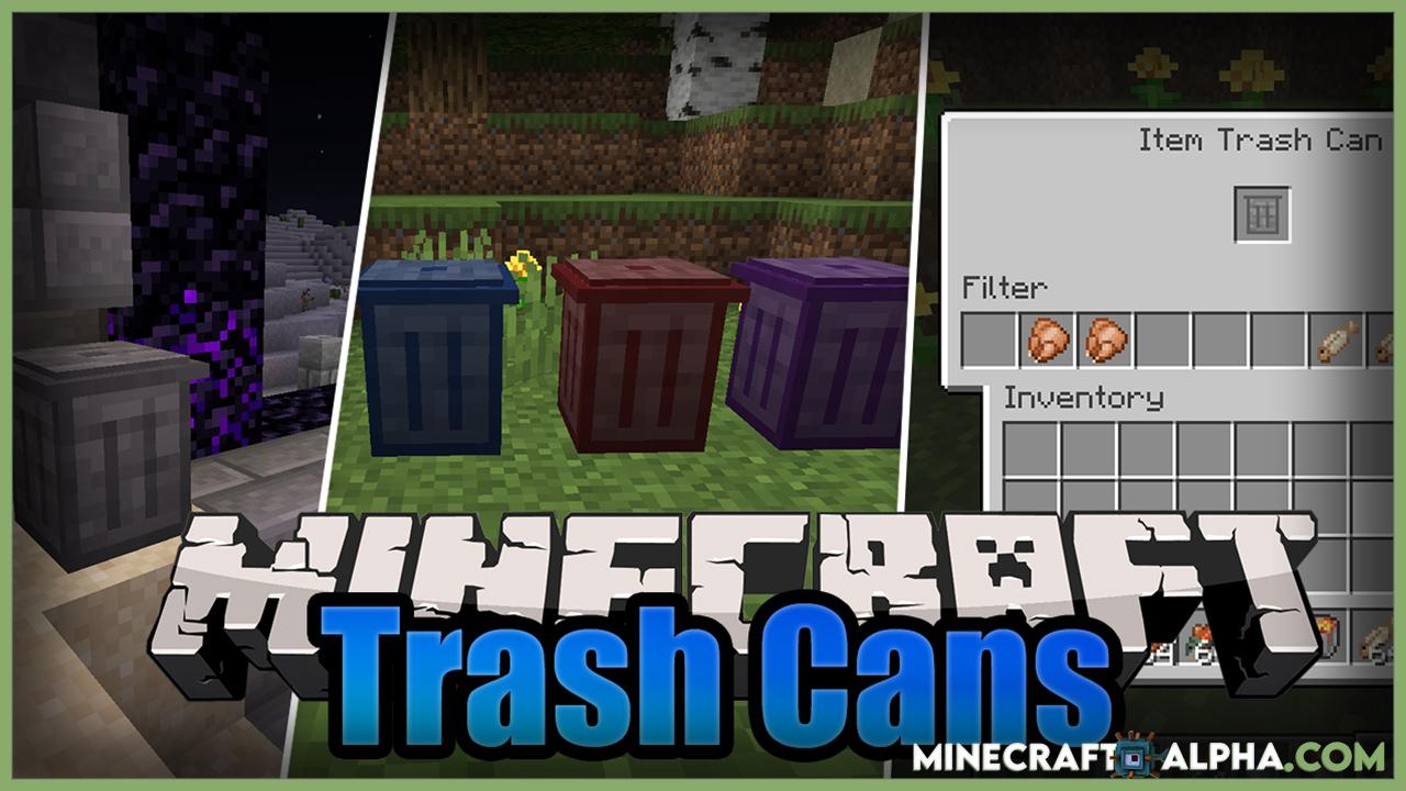 Trash Cans Mod