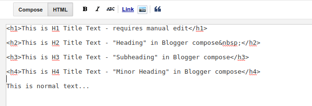 H1 title tag in new blogger themes - Blogger Help