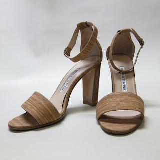 Manolo Blahnik Ankle Strap Sandals