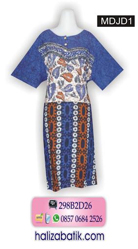 model baju batik, daster batik, baju batik wanita modern