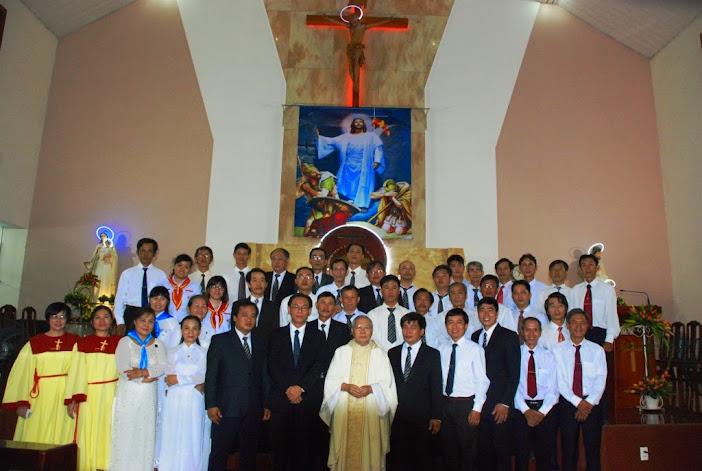 Lễ Kính Thánh Giuse Thợ: Bổn Mạng Giáo Xứ & Hội Đồng Mục Vụ Gx Phú Hòa