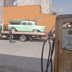 the pump by Bill Steffler - Transportation Automobiles
