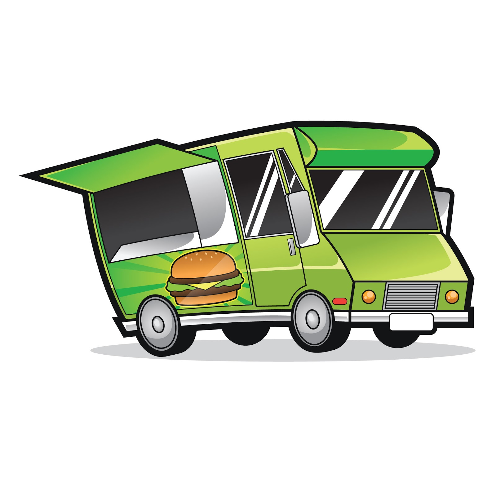 Food Truck Logo Free Download Vector CDR, AI, EPS and PNG Formats