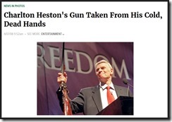 THE ONION, snarky Charlton Heston obit