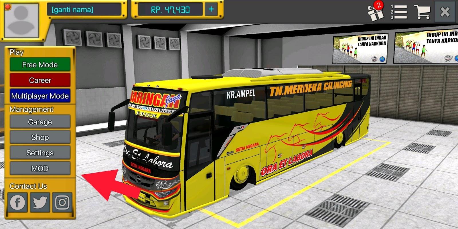 Kumpulan Mod Bus,Truk,Mobil,Livery,Motor dan Alat berat Bussid Terbaru 2020 Tanpa Iklan,Ekstrak dan Tanpa Pasword