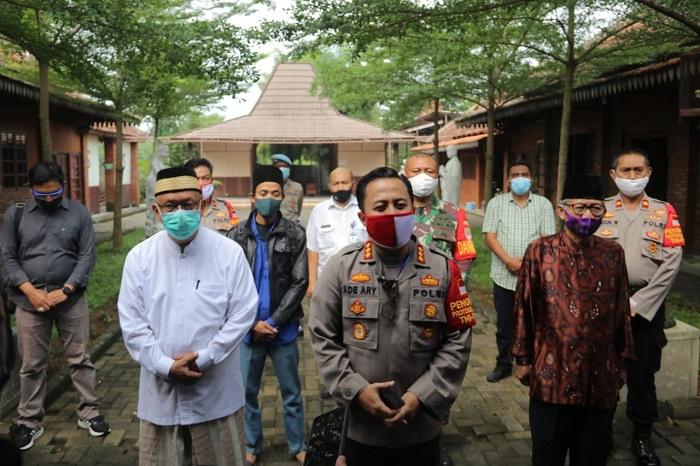 Sosialisasikan Protokol Kesehatan, Polresta Tangerang Gandeng Tokoh Agama