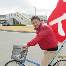 2013年1月3日 新春自転車街宣2日目