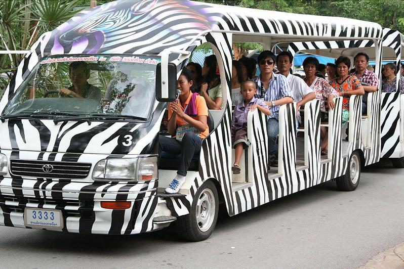 รถบริการ, รับส่ง, สวนสัตว์โคราช, สวนสัตว์นครราชสีมา, Korat Zoo