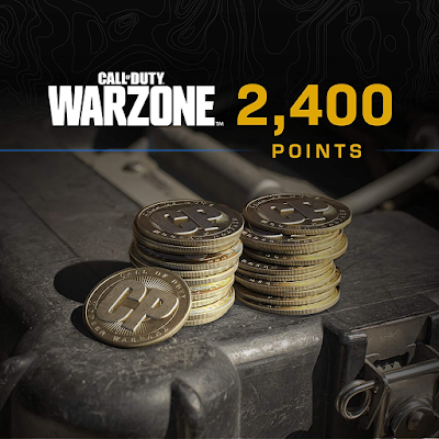 Call of Duty: Warzone -  2,400 COD Points - PS4 & PS5 [Digital Code]