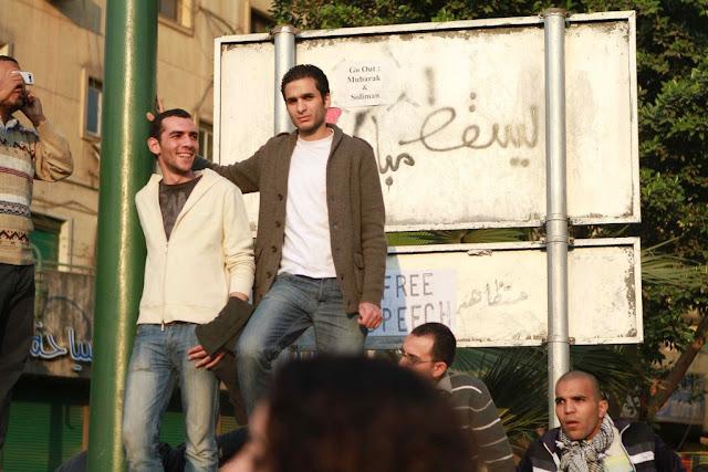 Egyptian Revolution شريف الحكيم Freeespeech