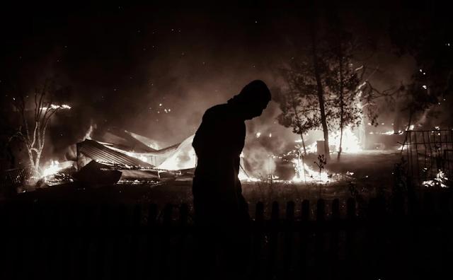 Συγκλονιστικό το φωτορεπορτάζ από την μεγάλη καταστροφή στην Βαρυμπόμπη