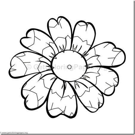 flore sencillas para colorear  (19)