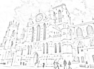 Minster cathedral sketch