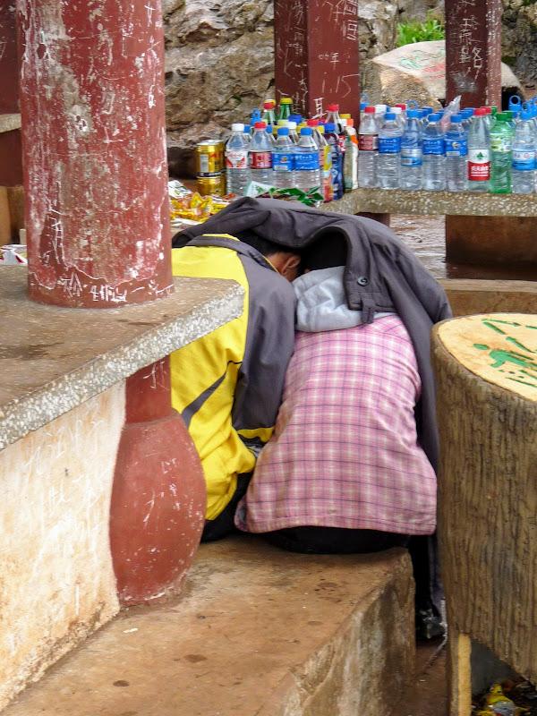 CHINE.YUNNAN.KUNMING , temple Lac Dian Chi - P1270757.JPG