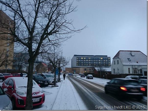 sygehus med sne 070116