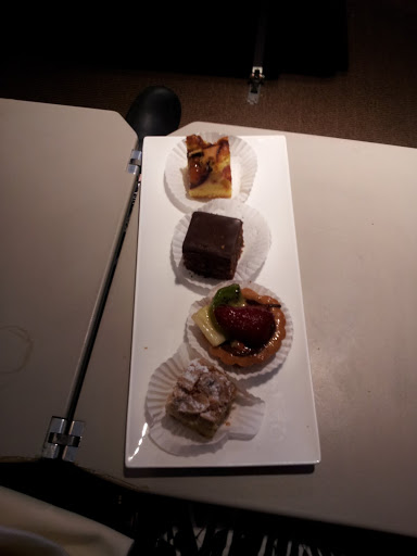 Dessert sampler at Turkish DO&CO, Istanbul