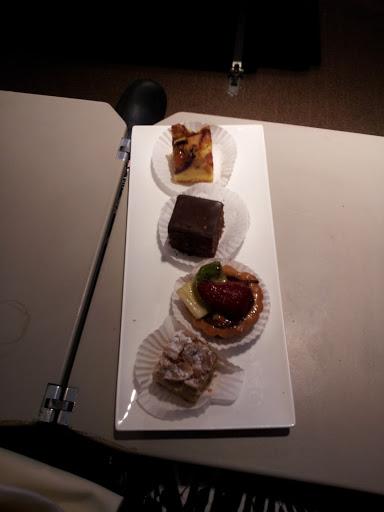 Dessert sampler at Turkish DO&CO, Istanbul