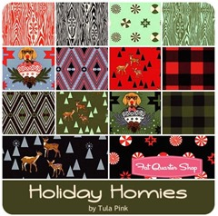Holiday Homies by Tula Pink