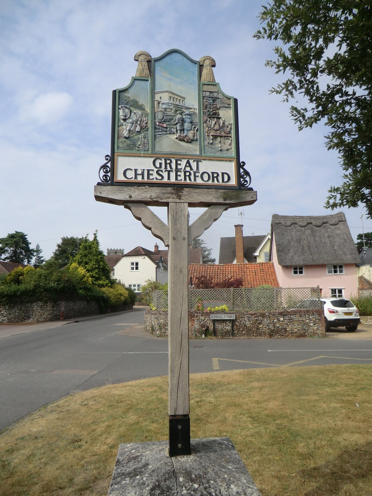 CIMG5985 Village sign
