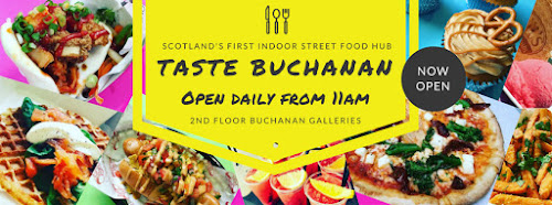 Taste Buchanan, Street food, pop-up restaurants, Bank of Scotland, Great Scottish Run