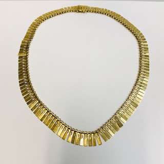 18K Gold Heavy Necklace