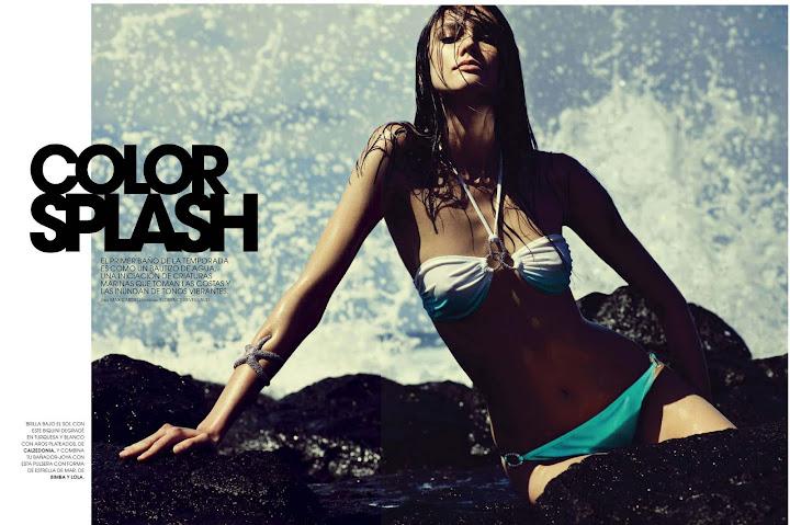 Color Splash (Marie Claire España) - mayo 2011