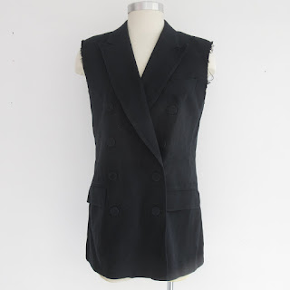 Dries van Noten Deconstructed Sleeveless Vest